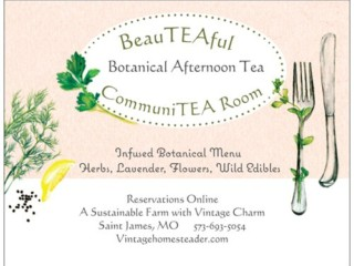 Tea Postcard front
